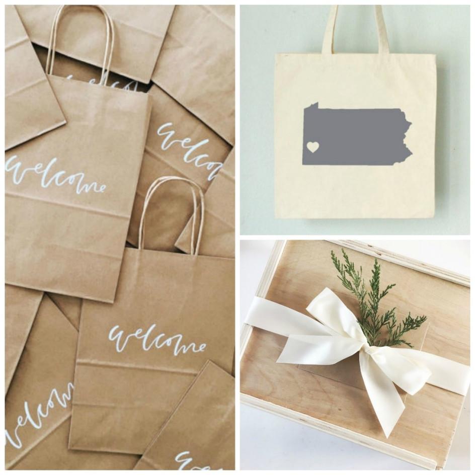 Wedding Swag Bag Ideas