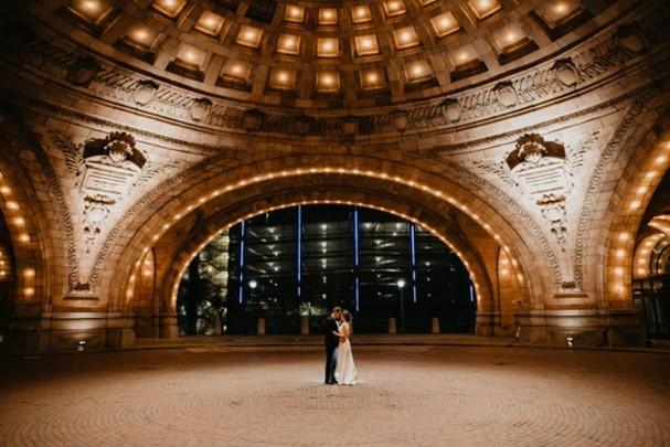 Evening Central Park Wedding